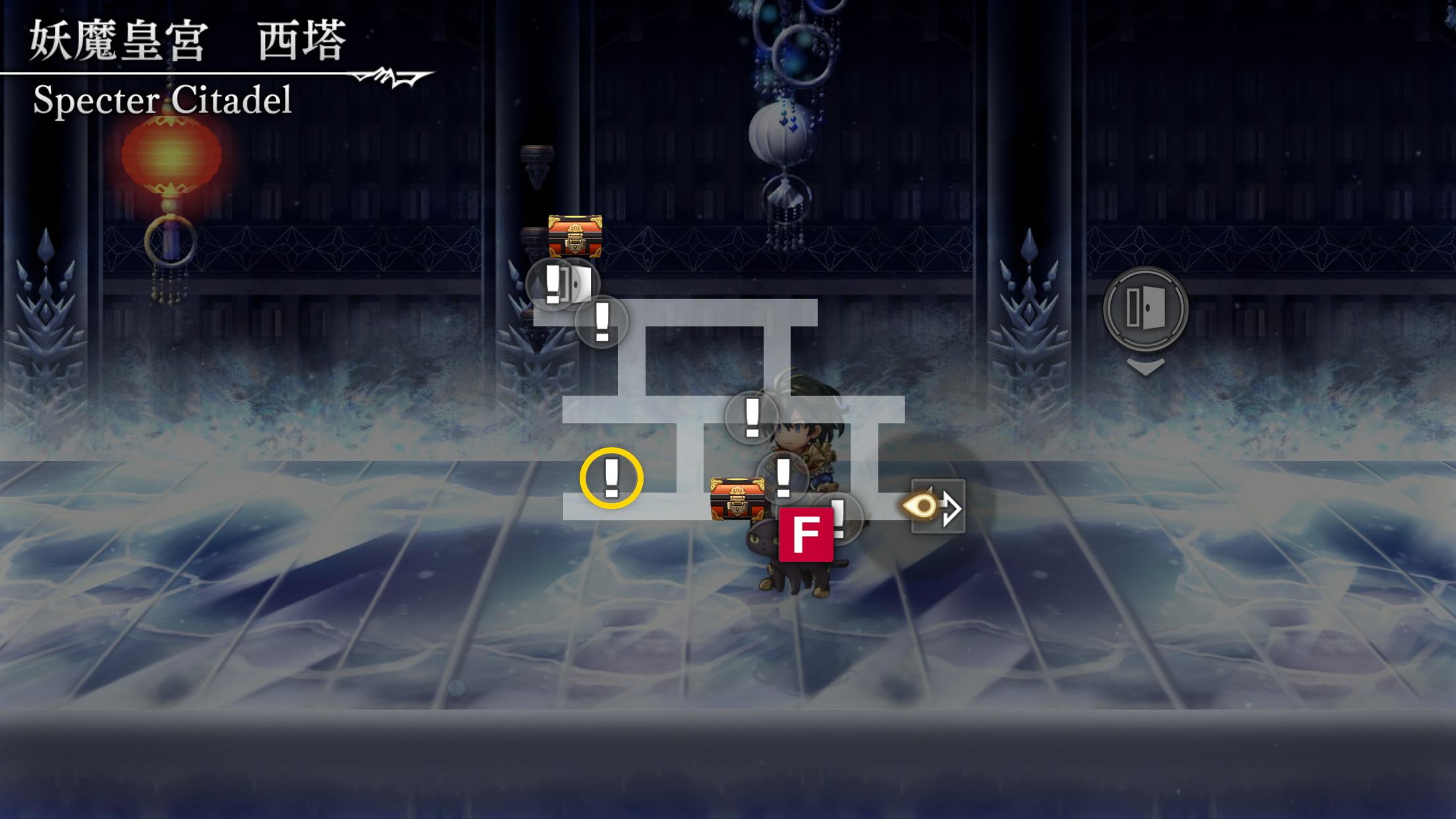 妖魔皇宮ストーリーマップ6