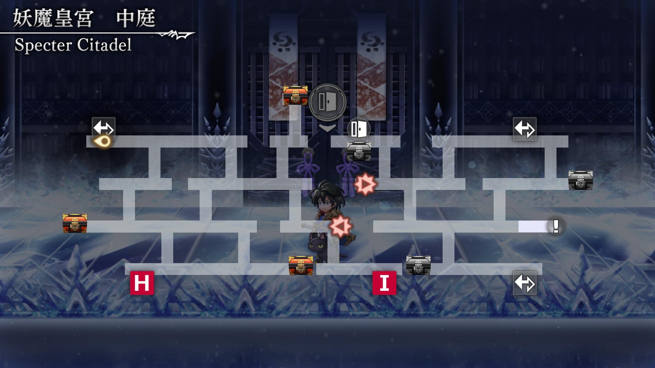 妖魔皇宮ストーリーマップ8