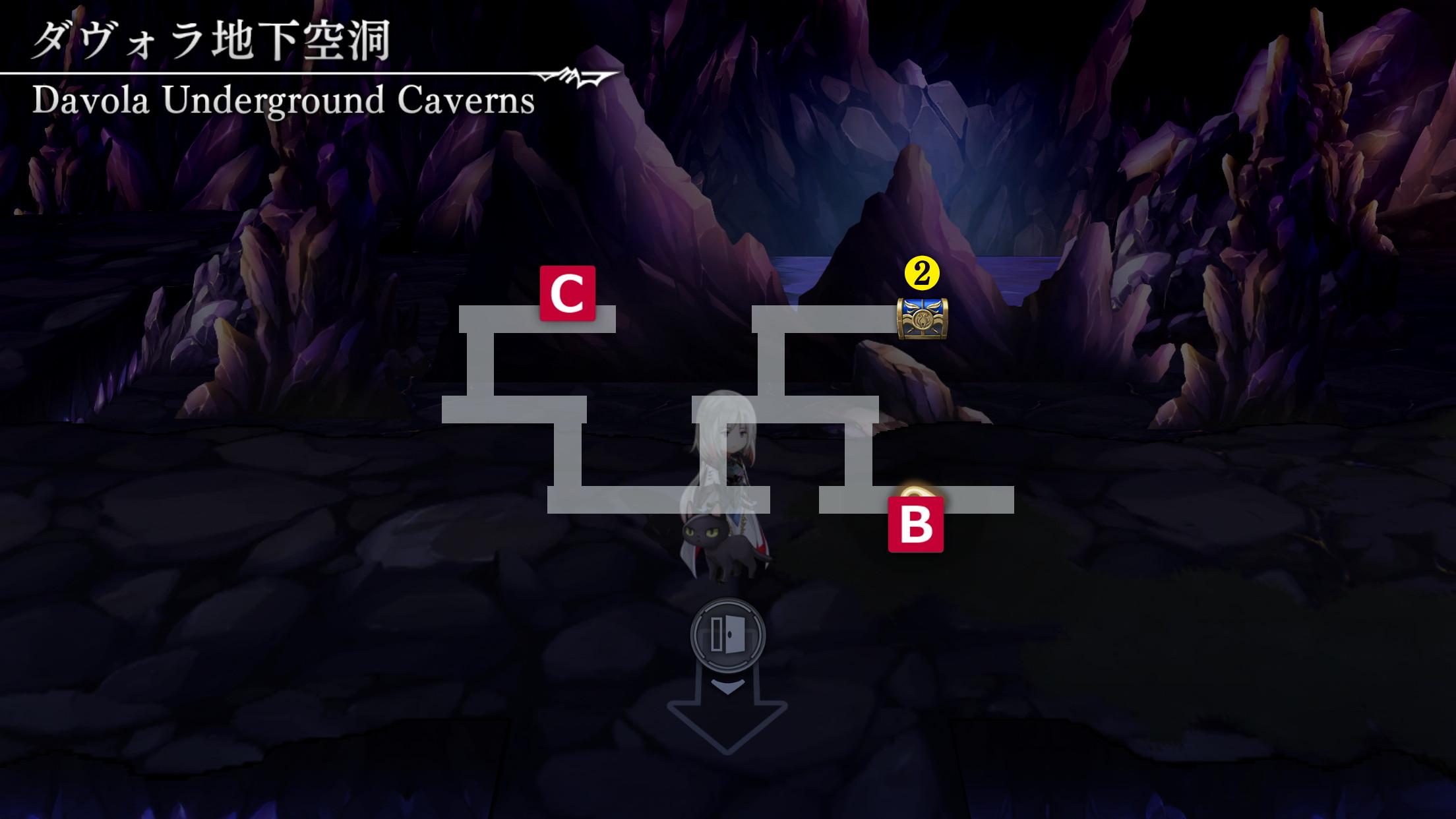 ダヴォラ地下空洞マップ3