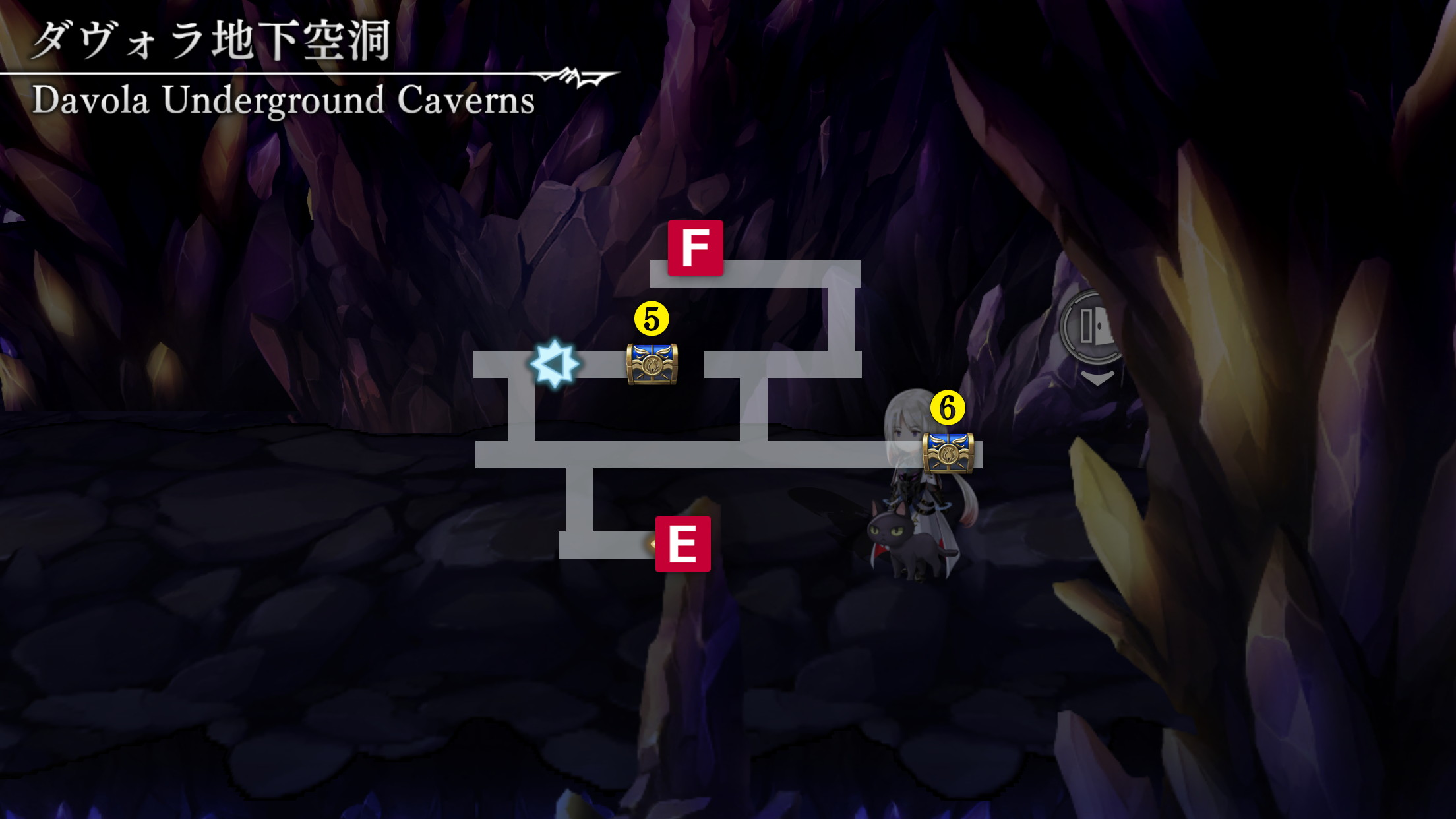 ダヴォラ地下空洞マップ6
