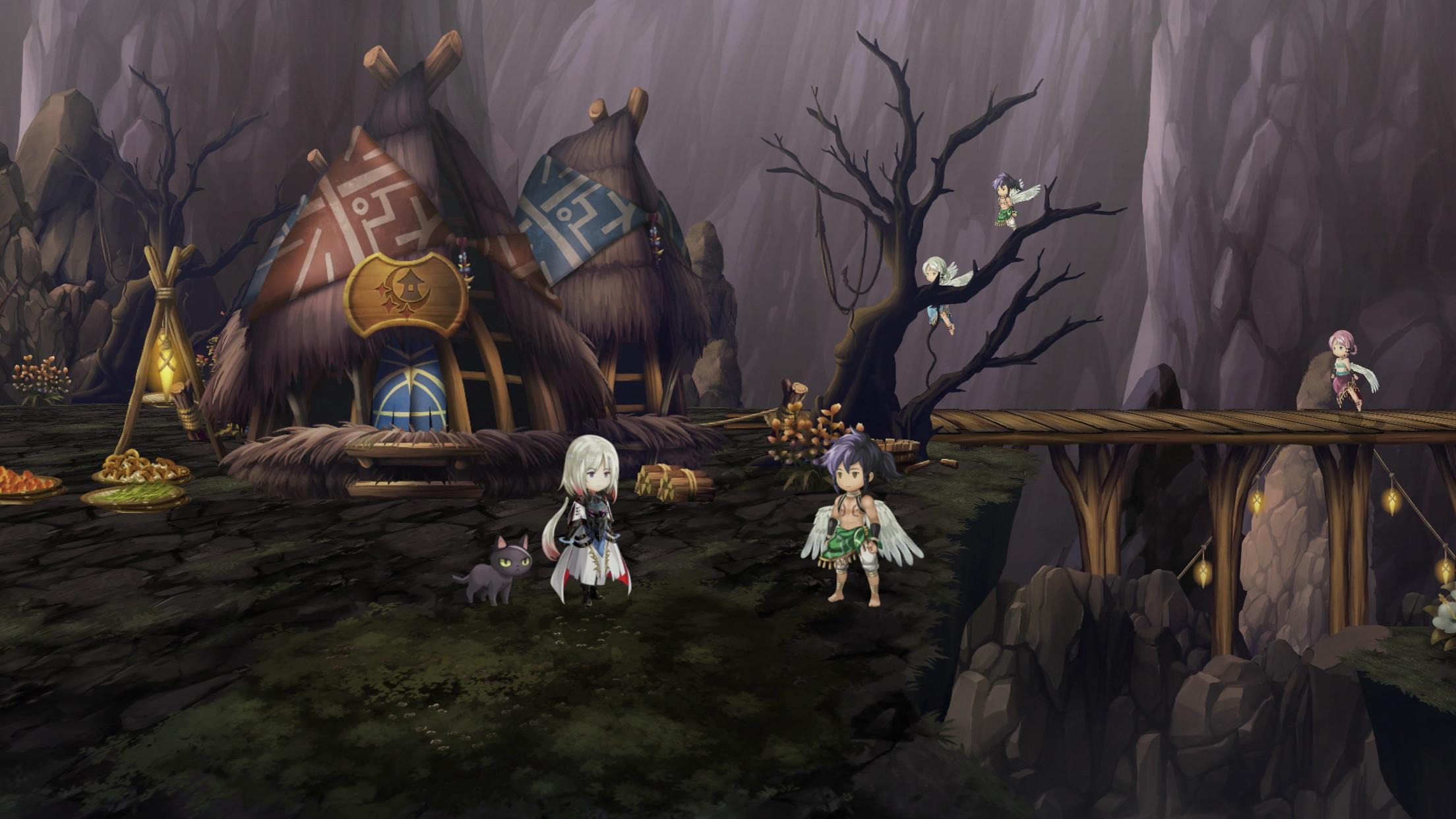 翼人の村の隠し宝箱
