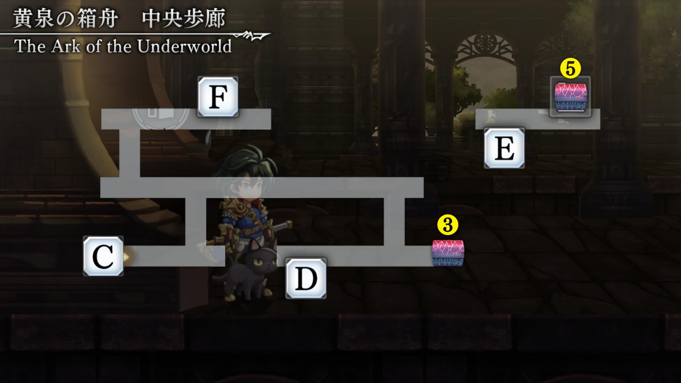 黄泉の箱舟マップ3