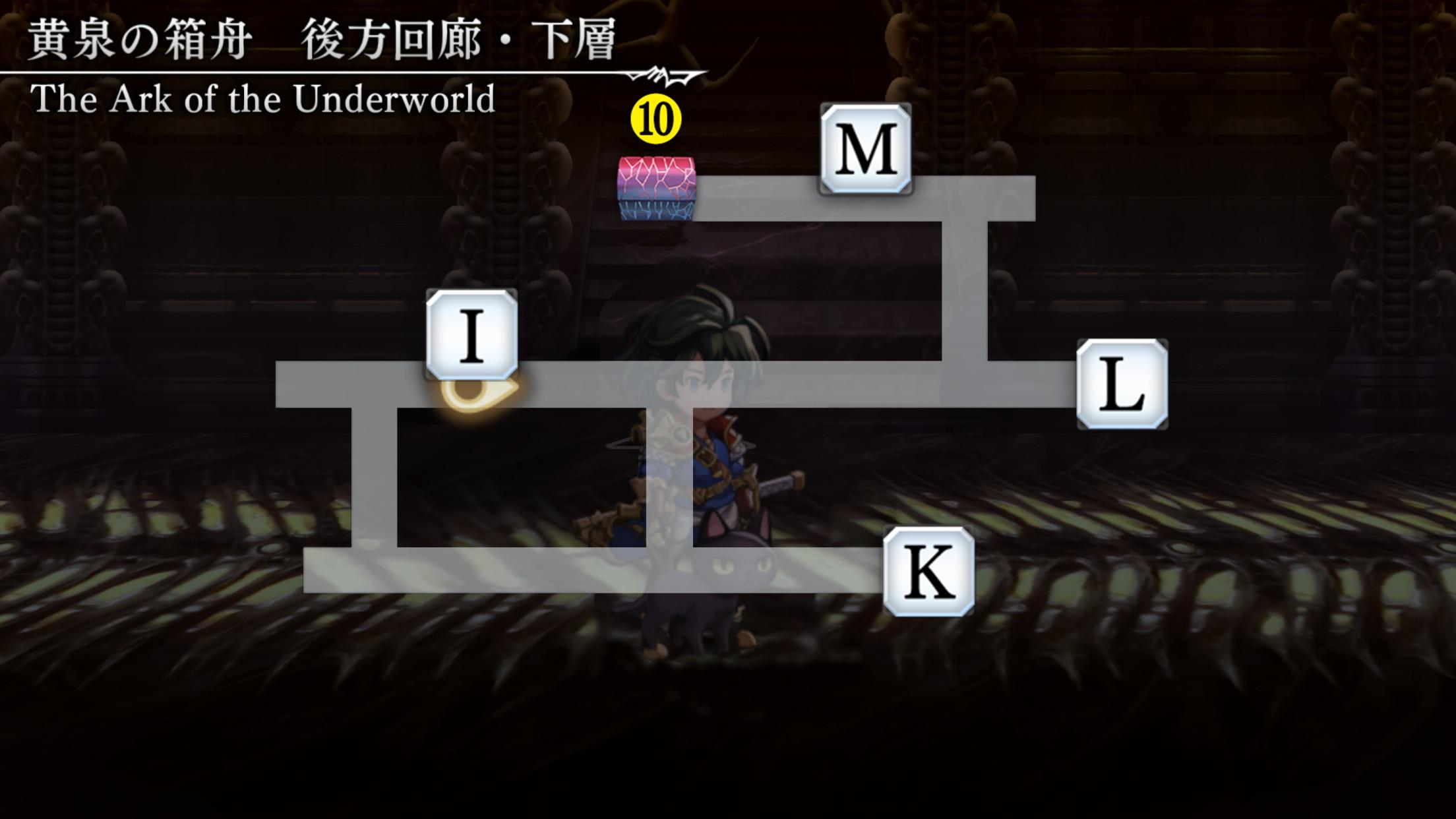 黄泉の箱舟マップ8