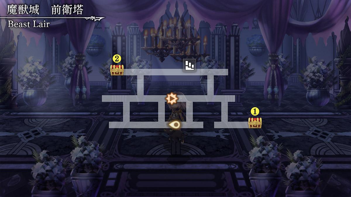 魔獣城アナダンマップ1