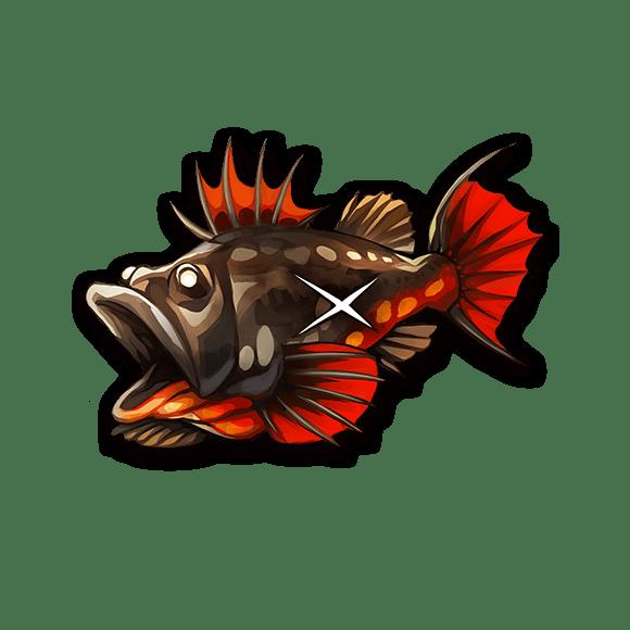 クロコゲカサゴ